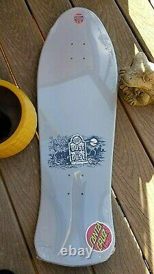 Salba Tiger Dust to Dust Santa Cruz Skateboard Deck Steve Alba Jim Phillips