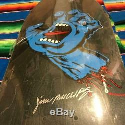 Santa Cruz 30th anniversary Screaming Hand 1000 Limited Serial Number Entry deck