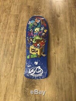Santa Cruz Bart Simpsons Jeff Grosso Toybox Skateboard Deck (New in plastic)