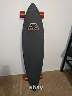 Santa Cruz Boba Fett Longboard 43.5 Pintail Cruiser Star Wars Limited Edition