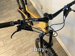 Santa Cruz Bronson 2022 S/Carbon C/MX Full Suspension Mountain Bike Size Large