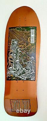 Santa Cruz COREY O'BRIEN Purgatory Reissue Skateboard Deck Copper 9.85 x 30