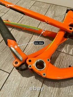 Santa Cruz Carbon C 5010 Full Suspension MTB Frame 27.5 Size Medium 2015