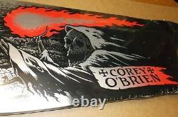 Santa Cruz Corey O'brien Reaper Reissue Skateboard Deck Full Size Rare