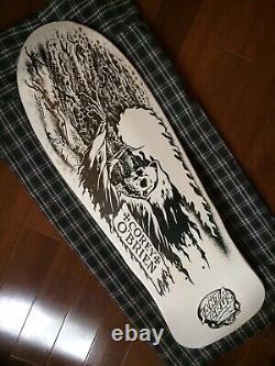 Santa Cruz Corey OBrien Reaper DIY Skateboard Deck