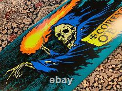 Santa Cruz Corey Obrien Reaper Teal Reissue Skateboard Deck Jim Phillips Skate