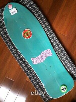 Santa Cruz Dressen Pink Roses Skateboard Deck