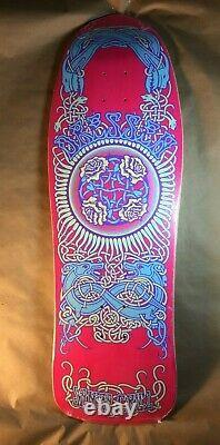 Santa Cruz Eric Dressen Celtic Roses Reissue Skateboard Deck Old School Pink