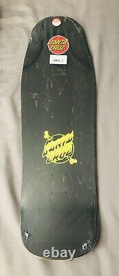 Santa Cruz Erick Winkowski Volcano Glow in the Dark Skateboard Deck 10 x 31.6