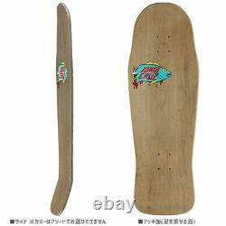 Santa Cruz Fugu Fish Crocodile Sea creatures Shaped Skateboard Deck 10.34inch