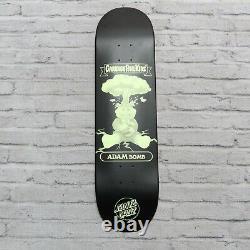 Santa Cruz Garbage Pail Kids Adam Bomb Topps Nuclear Glow Skateboard Deck