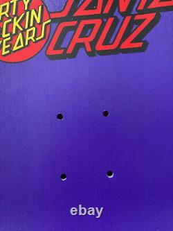 Santa Cruz JEFF GROSSO DEMON 30 F'in Years Purple dip Jessee Roskopp Salba