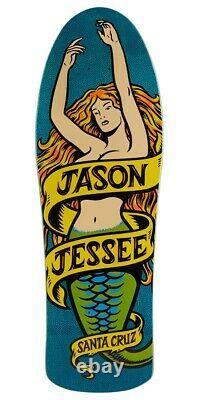 Santa Cruz Jason Jessee Mermaid Preissue 10.2 Old School Shape Skateboard Deck