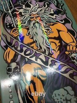 Santa Cruz Jason Jessee Neptune Bat deck rare limited 30th