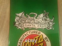 Santa Cruz Jason Jessee Neptune II Reissue Skateboard Deck Metallic Green