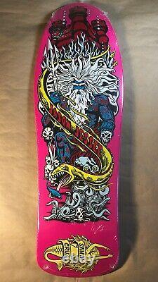 Santa Cruz Jason Jessee Neptune Reissue Old School Skateboard Deck Jim Phillips