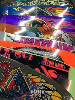 Santa Cruz Jason Jessee Reissue Skateboard Deck Neptune Shark Tail Rare
