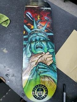 Santa Cruz Jason Jessee Skateboard Deck Rape Of Liberty Rare READ DESCRIPTION