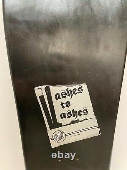Santa Cruz Jason Jessee Sun God Old School Rare Vintage Ashes to Ashes Collector