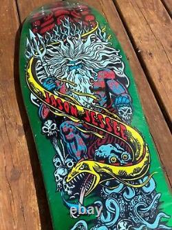 Santa Cruz Jason Jessee green reissue Skateboard Deck Powell peralta Bones