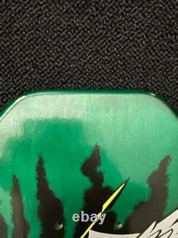 Santa Cruz Jeff Grosso Demon Metallic Green Skateboard Deck