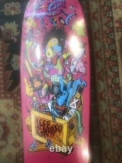 Santa Cruz Jeff Grosso Toy-Box Pro Series Skateboard Deck