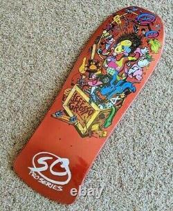 Santa Cruz Jeff Grosso Toybox Candy Orange Reissue 10 Skateboard Deck