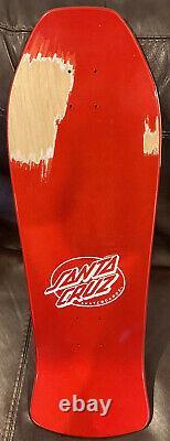 Santa Cruz Jeff Grosso Toybox Metalic Skateboard Reissue Deck With Issues Powell