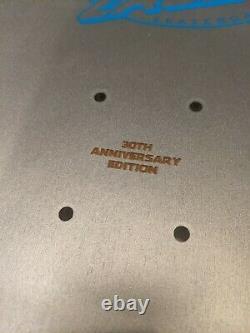 Santa Cruz Jeff Kendall 30th Anniversary Pumpkin Silver Prismatic Reissue Deck