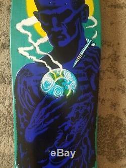 Santa Cruz Jeff Kendall Atomic Man Skateboard Deck. 2015 Reissue. Collectable