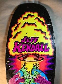 Santa Cruz Jeff Kendall End of the World Reissue Custom Colorway Skateboard Deck