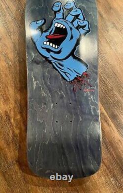 Santa Cruz Jim Philips Screaming Hand Skateboard Deck Numbered Limited