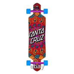 Santa Cruz Longboard Complete Mandala Ghand Drop Through Red 9.0 x 36