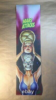 Santa Cruz Mars Attacks Mob Skateboard Grip Tape Limited Lot of 4 Rare