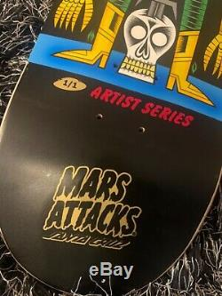 Santa Cruz Mars Attacks Skateboard 1/1