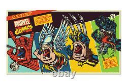 Santa Cruz Marvel Screaming Hand Deck Thor, Venom, Spiderman, or Wolverine