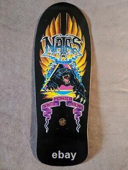 Santa Cruz Natas Kaupas Panther X Edmiston Reissue Skateboard Deck SMA