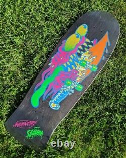 Santa Cruz Neon Slasher Reissue Skateboard Deck10