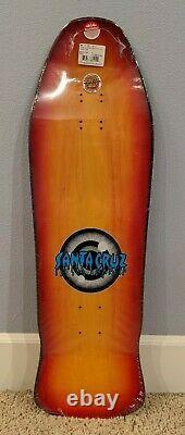 Santa Cruz Rob Roskopp Eye Sunburst Reissue Skateboard Deck 10