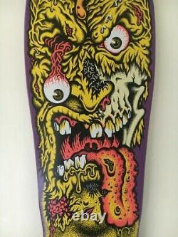 Santa Cruz Rob Roskopp Face 2 Skateboard Deck NHS Purple Dip Original Reissue