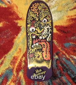 Santa Cruz Rob Roskopp Face 2 Skateboard Deck Purple Face In Shrink