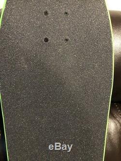 Santa Cruz Rob Roskopp Green Face Reissue Skateboard Deck Complete Slime balls