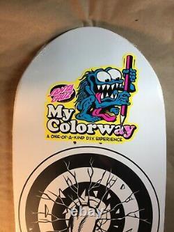 Santa Cruz Rob Roskopp Target 1 Reissue My Colorway Skateboard Deck
