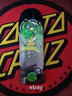 Santa Cruz/Rob Roskopp complete set Target 1 thru 5 Reissue Black Ltd to 300