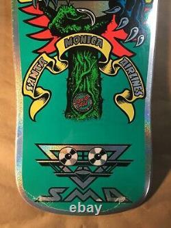 Santa Cruz SMA Natas Kaupas Panther Blind Bag Prismatic Foil Skateboard Deck
