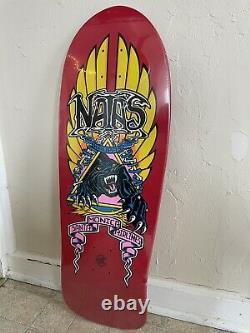 Santa Cruz SMA Natas Skateboard Deck Red