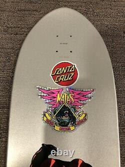 Santa Cruz SMA Teal Natas Kaupas Blind Bag Skateboard Deck Powell Peralta Sims