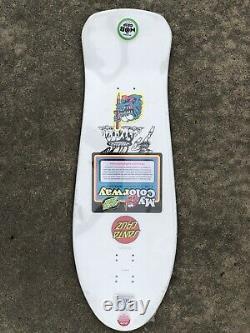 Santa Cruz Salba Tiger My Colorway Old School Reissue Skateboard Deck
