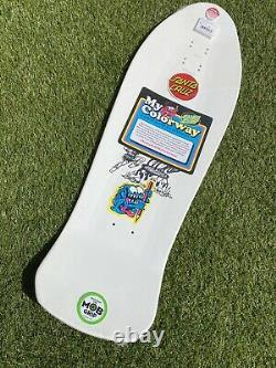 Santa Cruz Salba Tiger My Colourway Reissue Skateboard Deck Old School