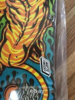 Santa Cruz Salba Tiger Skate Board Deck